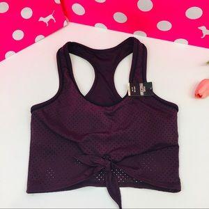 PINK Victoria's Secret Mesh Sport Bra Top XS